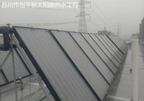 平板太阳能热水工程发展势头强劲